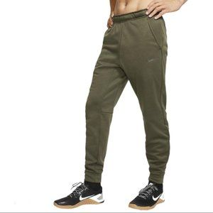 Nike Therma-Fit Tapered Training Joggers L Green